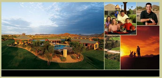 Beautiful Phoenix residential real estate in master planned Arizona active adult communities offer resort amenities to enhance Active Adult 55 Living.