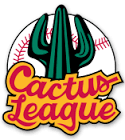 Official MLB Cactus League logo