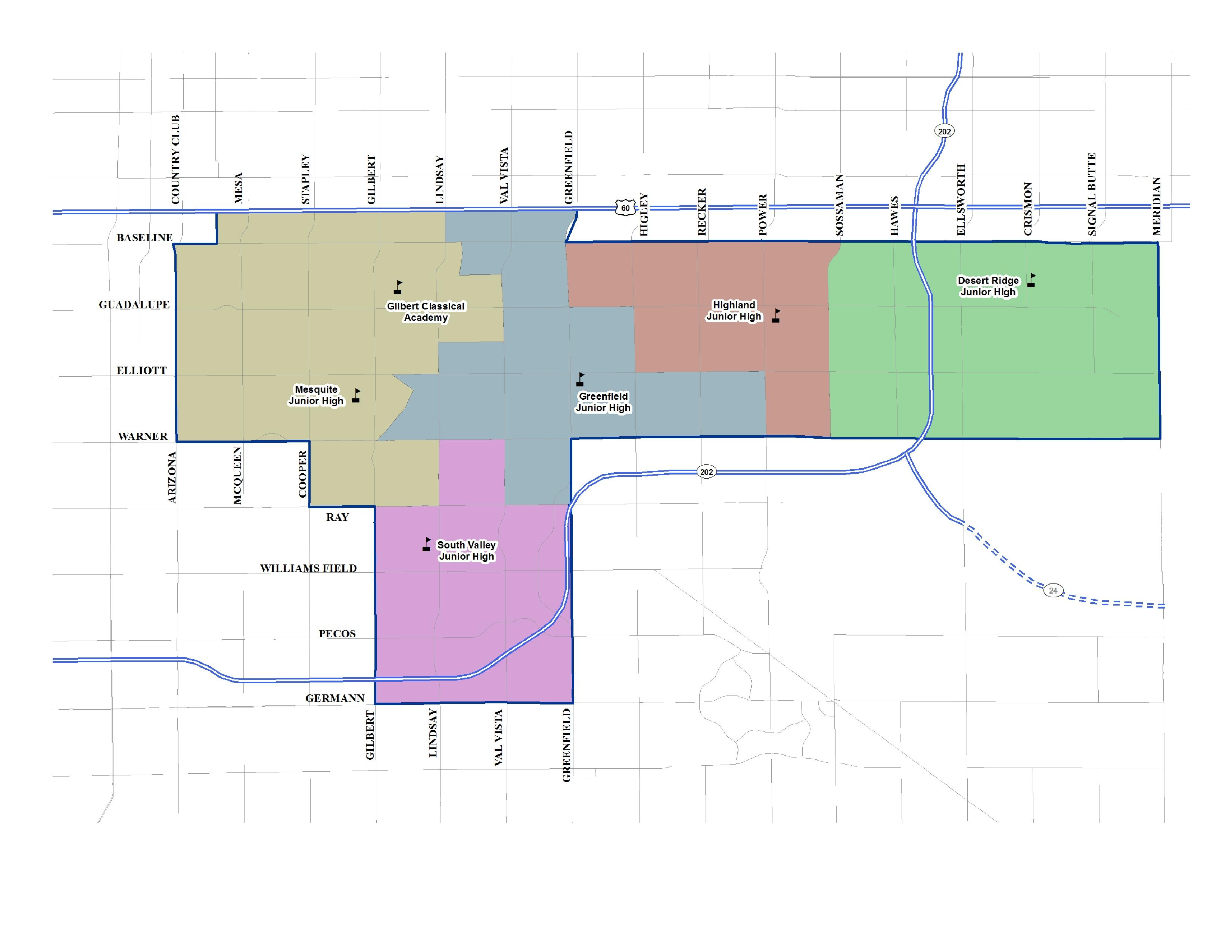 Gilbert AZ Unified District 2019 - 2020 ... on chandler map, highland high school map, sun city map, phoenix communities map, silver bay map, scottsdale map, apache jct map, oracle map, east mesa map, san tan map, marana map, wickenburg map, phoenix metro map, glendale peoria map, avondale map, beckley map, tolleson map, baudette map, tempe mesa map,