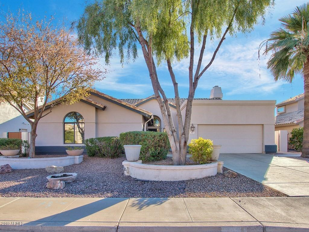 Tempe real estate map displays all homes for sale in Tempe AZ