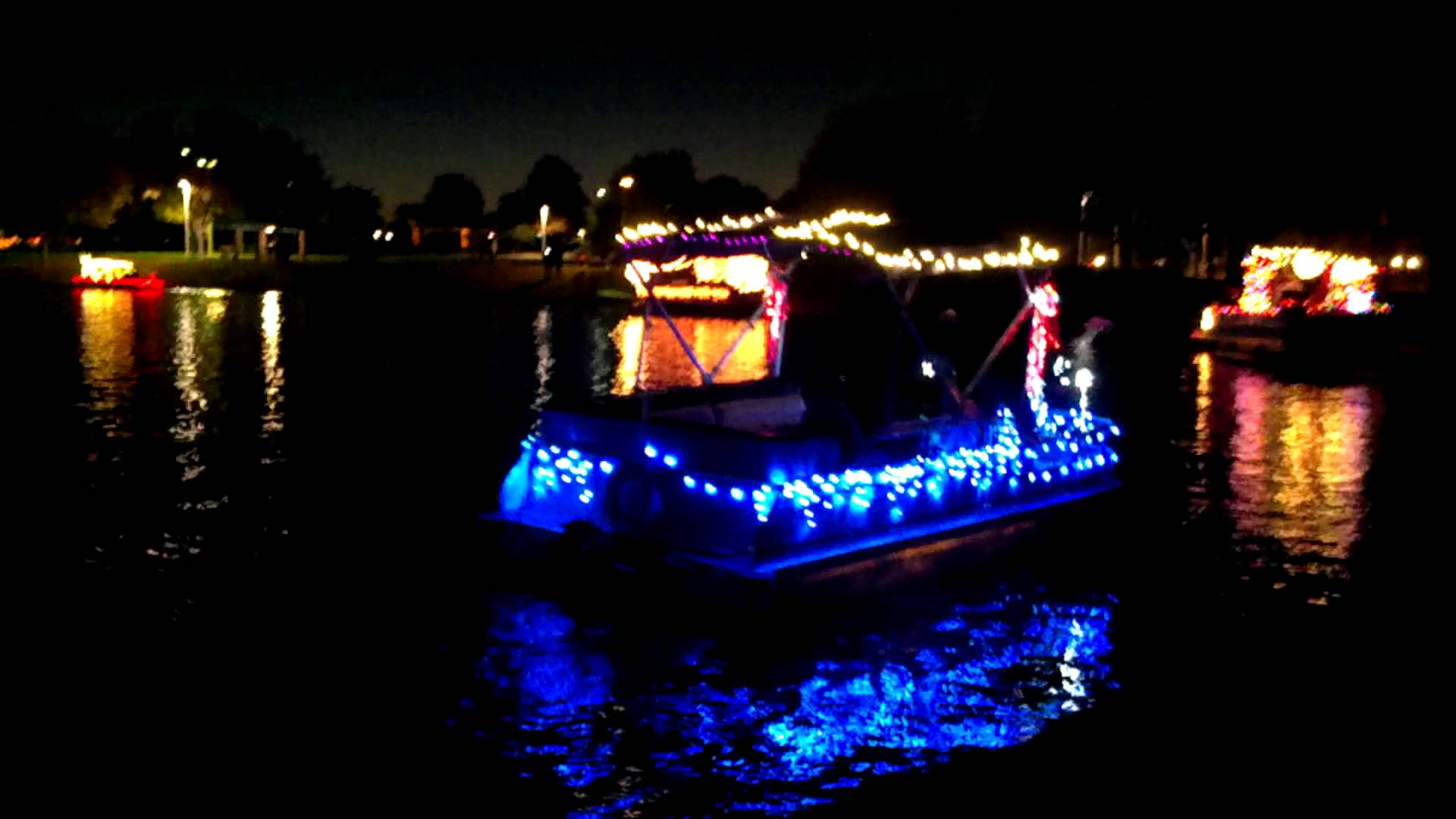 Christmas Boat Parade at the Islands in Gilbert AZ