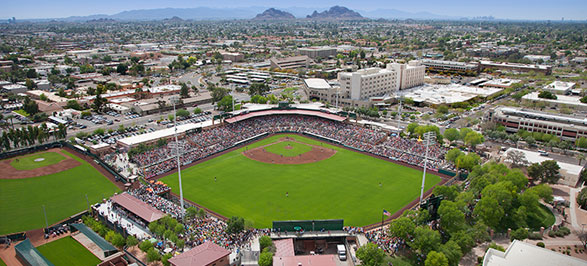 Cactus League Scottsdale MLB Baseball Stadium