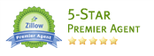 Zillow Premier 5 Star Agent