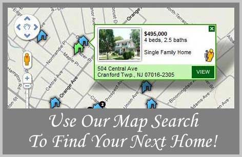 Find Cranford NJ Homes For Sale