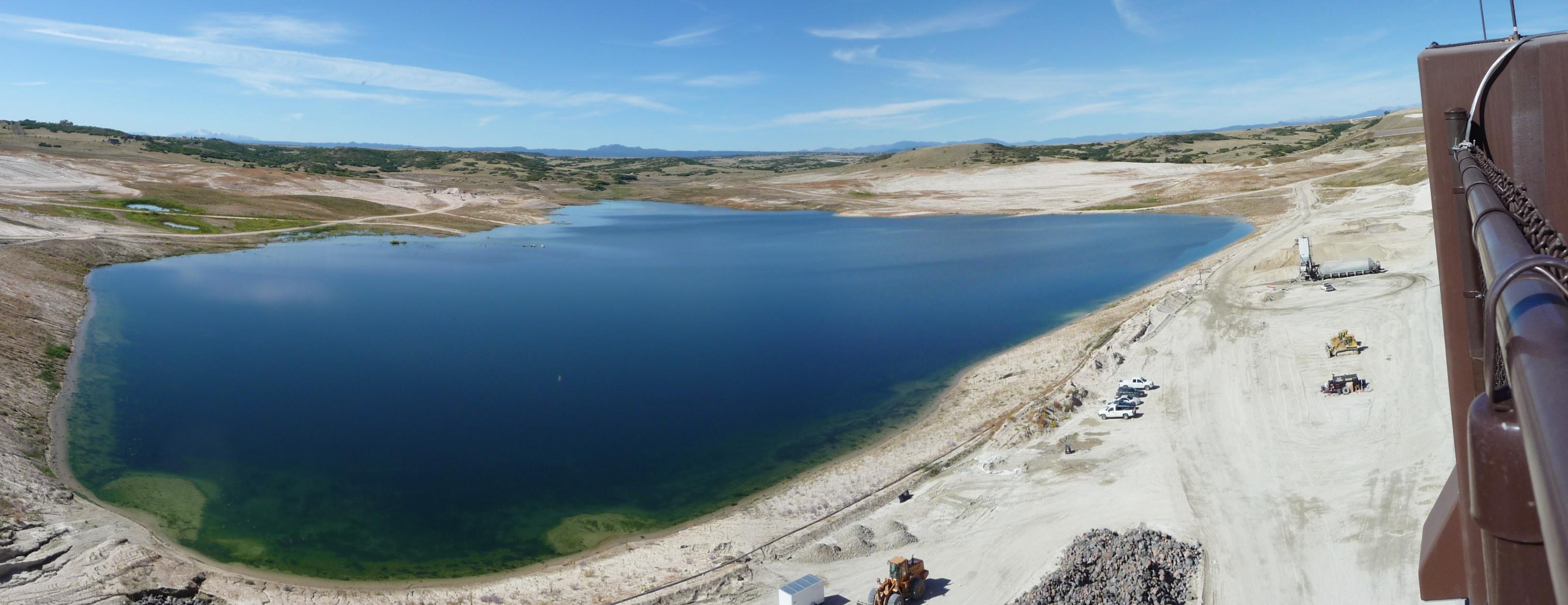 Rueter Hess reservoir Parker CO September 2011