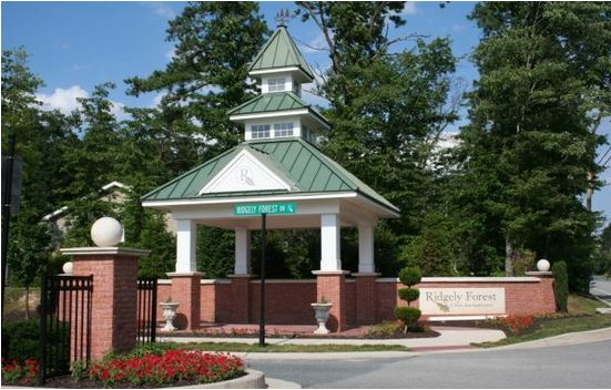 Ridgely Forest Community in Elkton MD