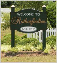 Rutherfordton NC History
