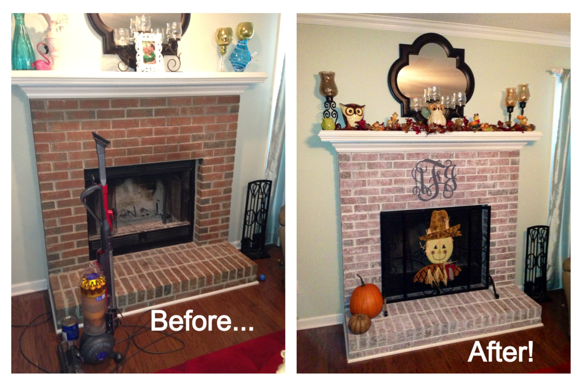 give your fireplace a makeover