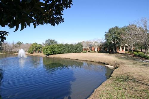BrickYard Pond & Gazebo at Clubhouse