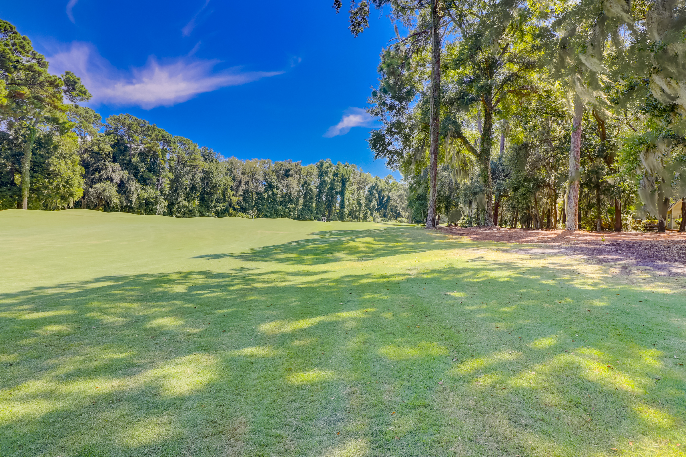 The 7th fairway on the Arthur Hills golf course and not a cart path in site makes this a very private setting.  You can capture these stunning fairway views even more if you want to clear the view corridors from this beautiful home on 314 Fort Howell Dr.