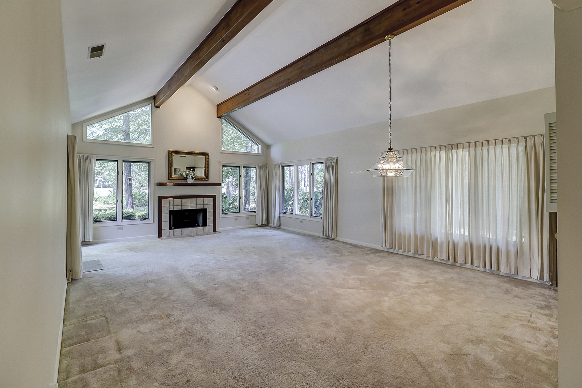 Moss Creek Home with Cathedral Ceiling