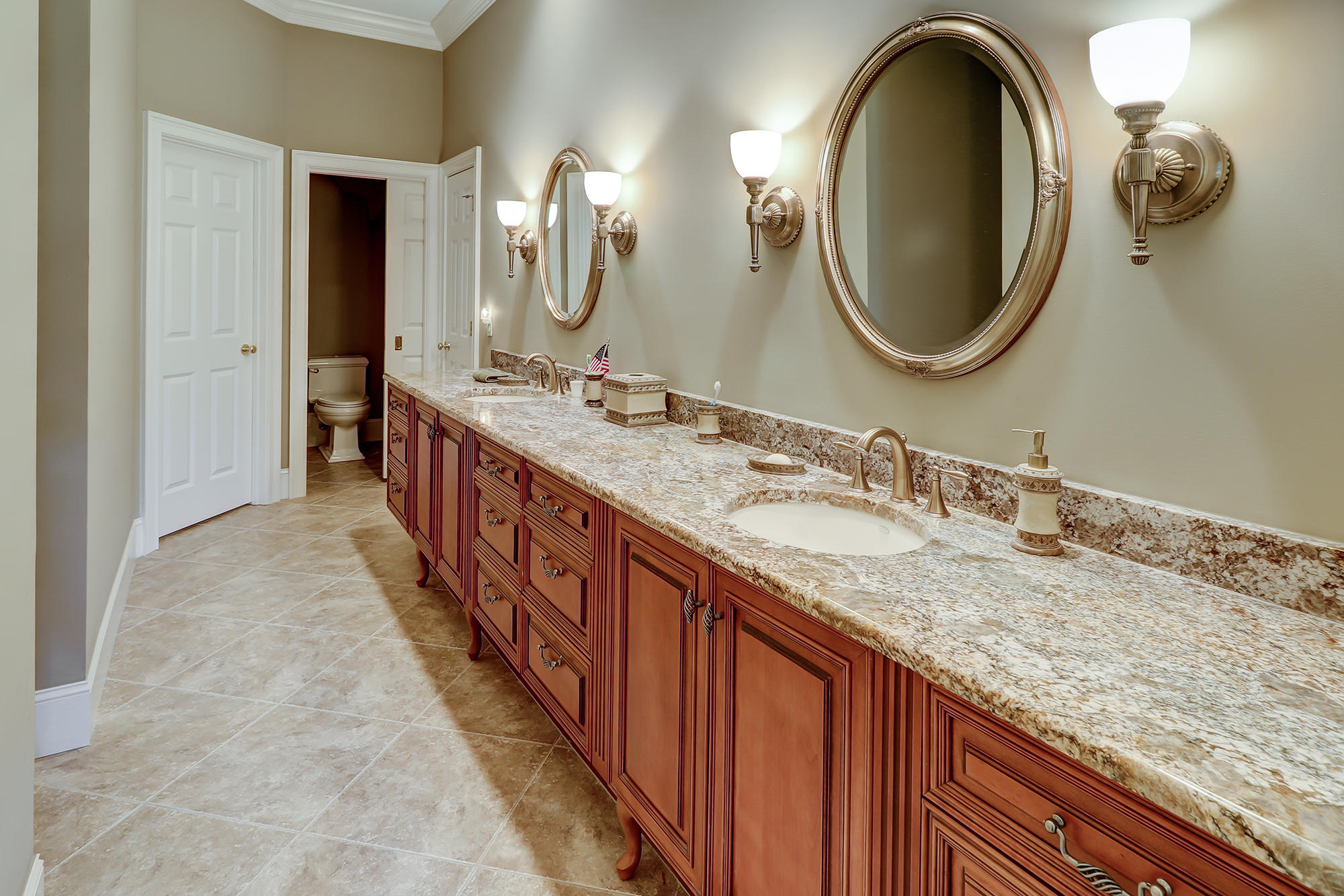 Spa Bath with Walk-in Shower Palmetto Hall Custom Home For Sale Like New