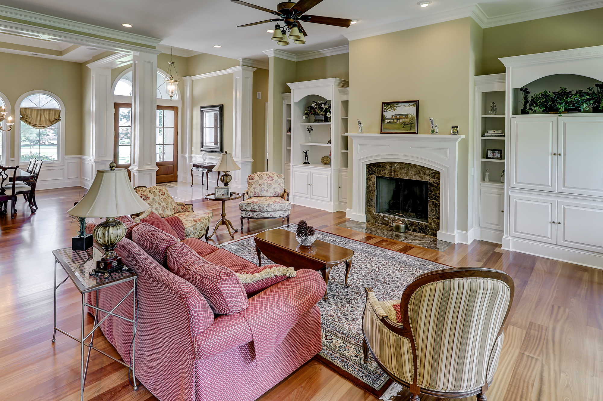 Great Room in 1 Clyde Lane Luxury Custom Home For Sale