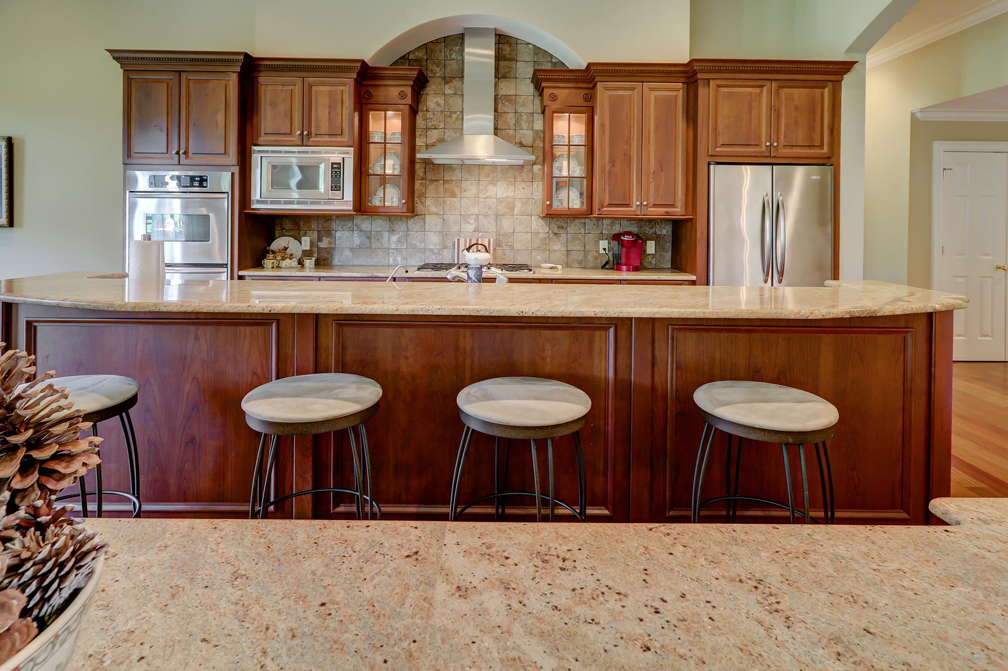 Gourmet Kitchen in an Open Floor Plan on Hilton Head Island