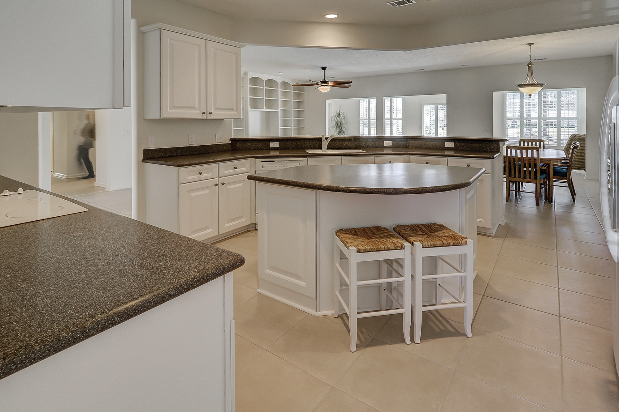 Gourmet Kitchen in the Chestnut Model - Sun City Hilton Head