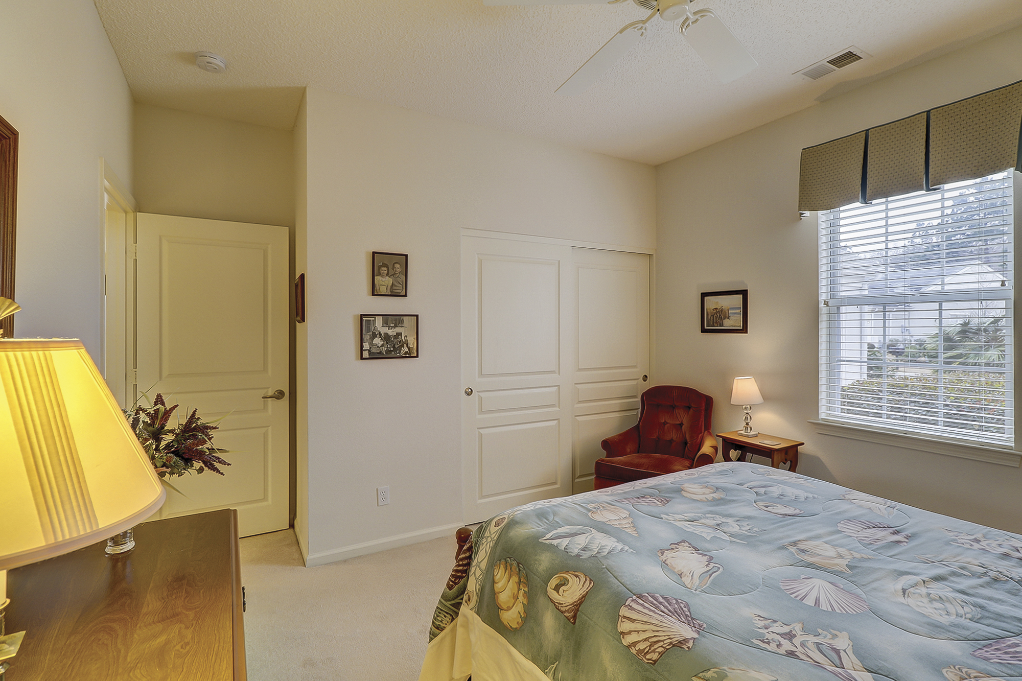 Spacious Guest Bedroom in this Sun City Hilton Head Home