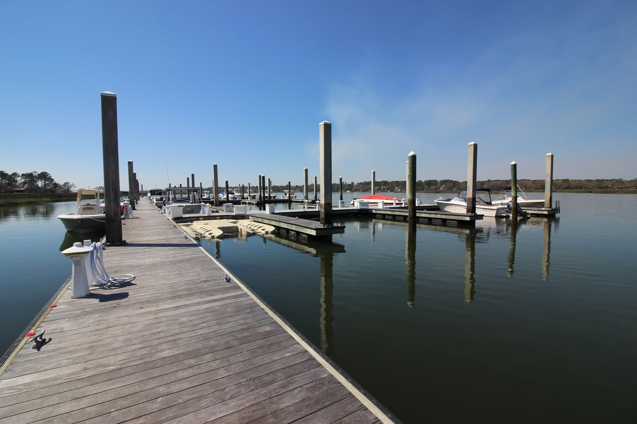 Deep Water Marina in Hilton Head just Minutes to the Intracoastal Waterway