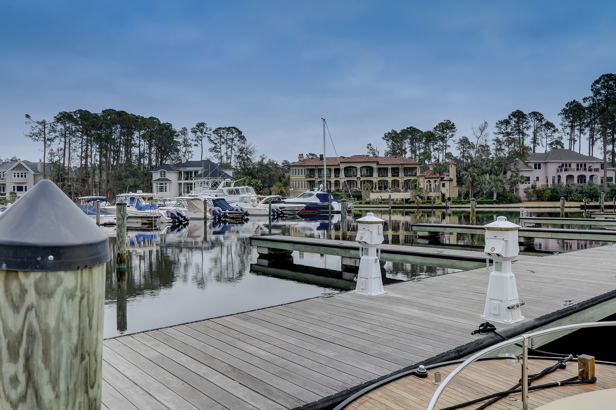 Wexford Inland Harbour located on Hilton Head Island