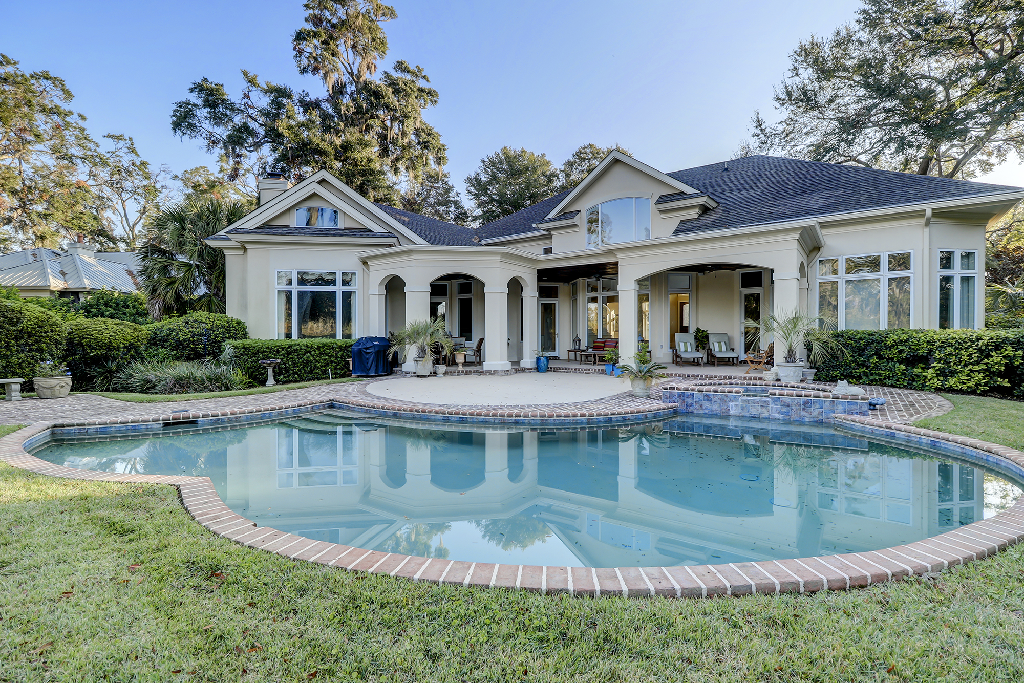 Colleton River Home with a Pool