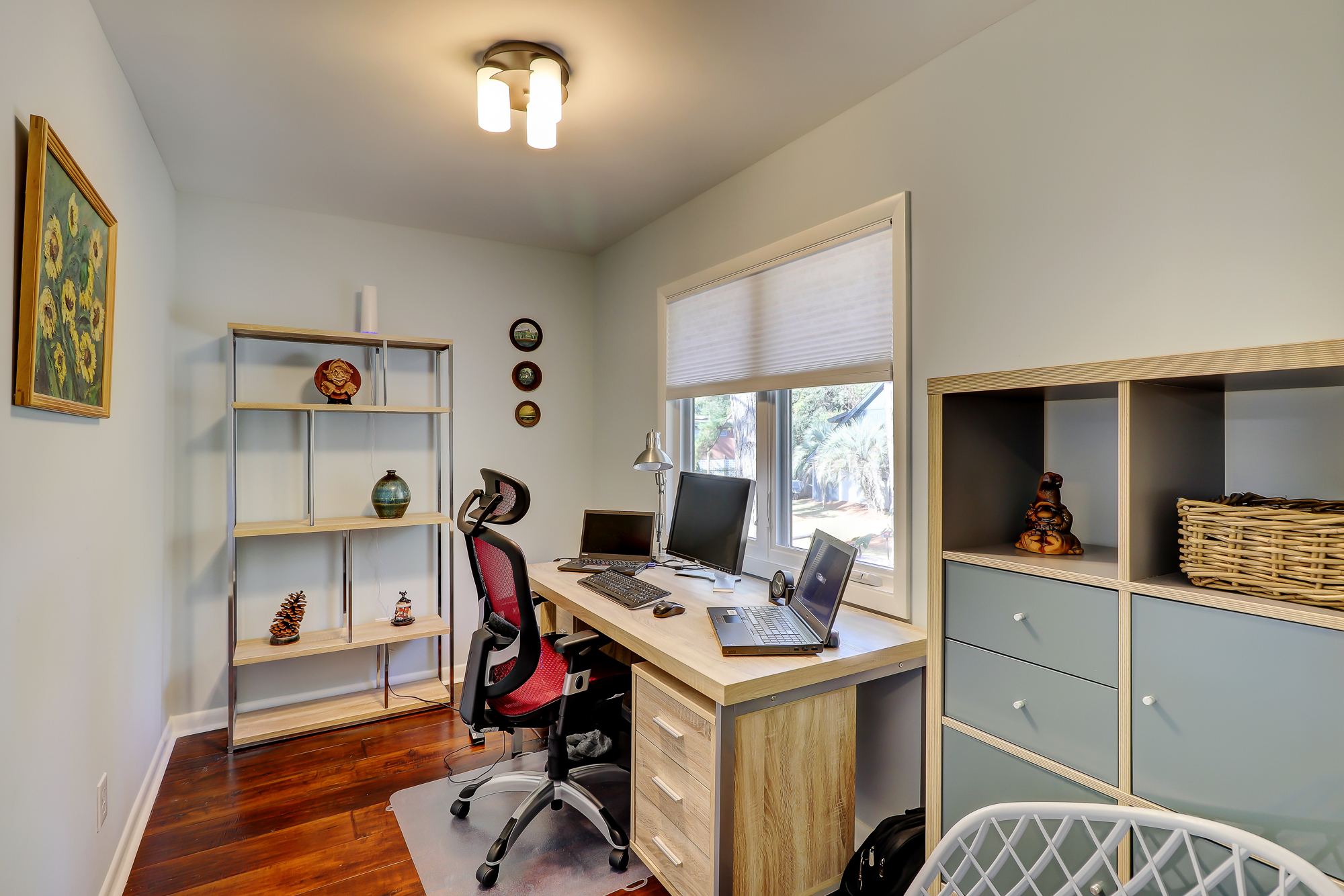 Perfect sized office with hardwood floors. 8 Bradley Beach, Hilton Head Island, MLS# 388240