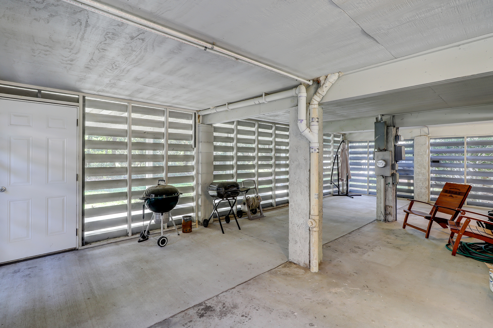 More storage space and all protected from pests. 8 Bradley Beach, Hilton Head Island, MLS# 388240