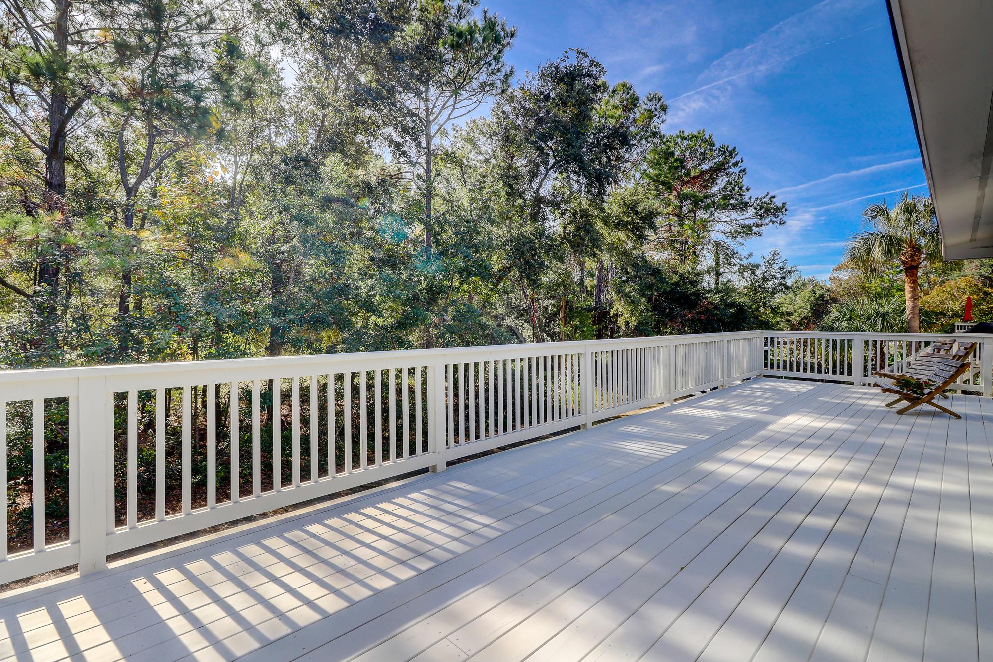 Huge Deck Perfect For Entertaining 8 Bradley Beach Hilton Head Island Mls