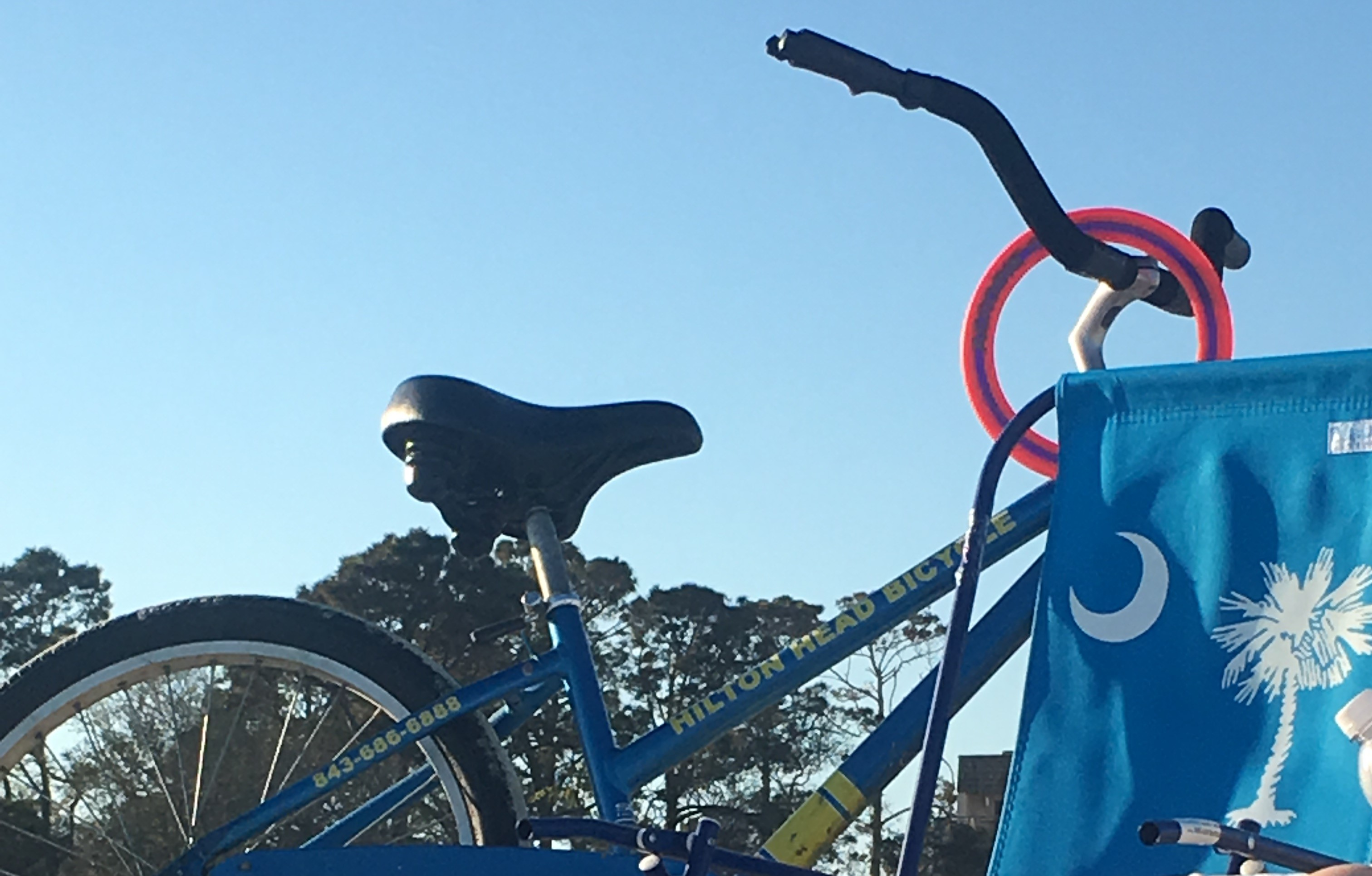 Beach Bike Ride Fun, Hilton Head Island