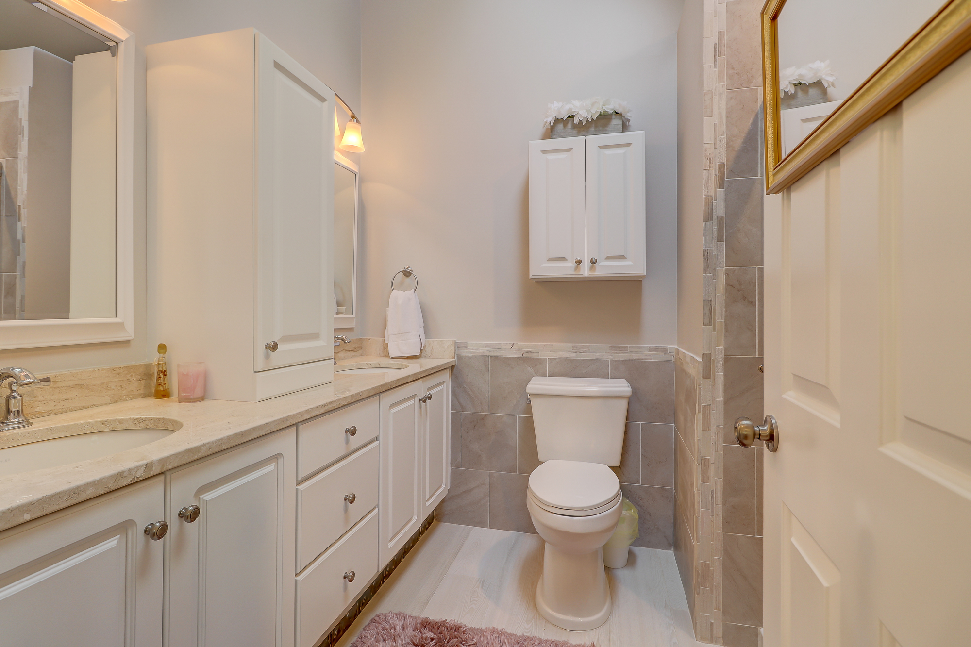 Master Bath and Guest Baths are Updated and offer Granite Tops