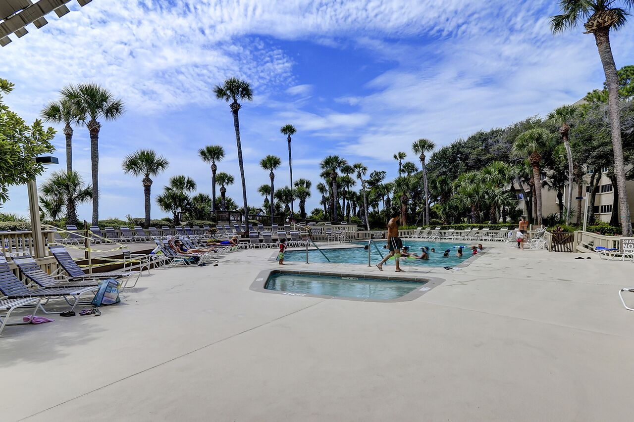 Oceanfront Pool Palmetto Dunes Hilton Head