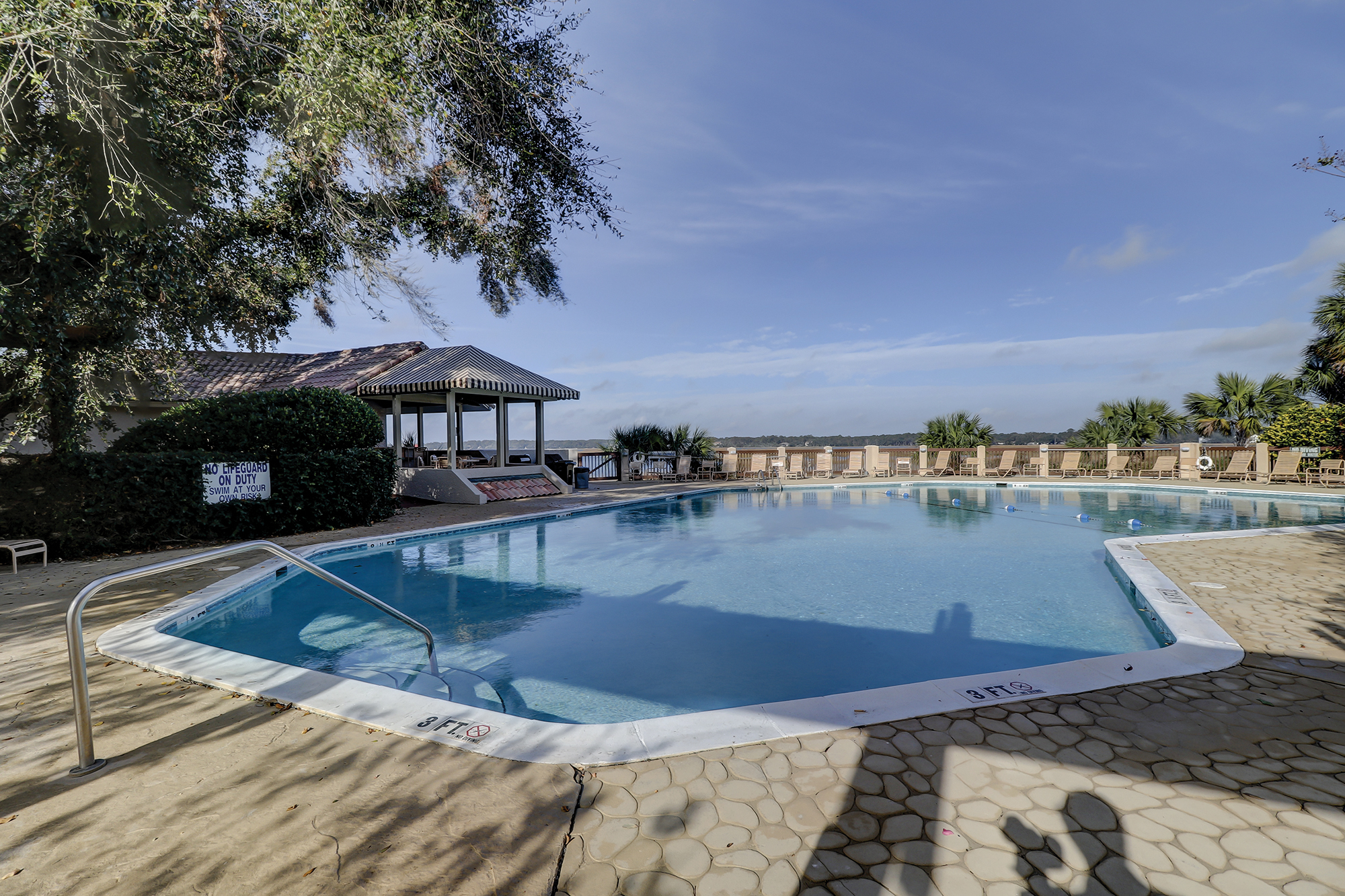Waterfront Pool in Newport, Palmetto Dunes Hilton Head