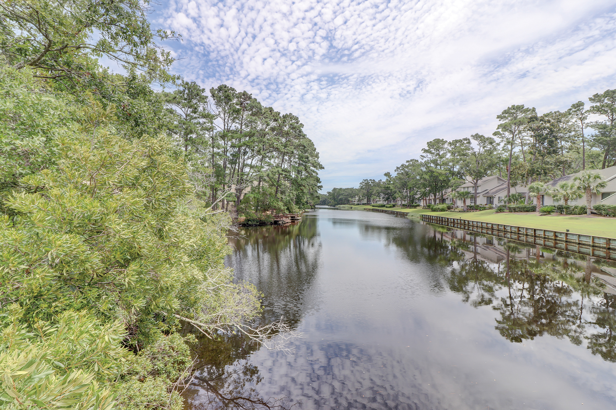 Palmetto Dunes 11 Mile Lagoon is Perfect for Kayaking and Fishing