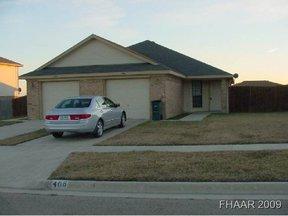 Killeen TX Single Family Home Leased: $650