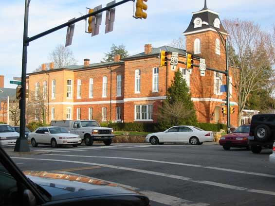 Brevard North Carolina Center of Town