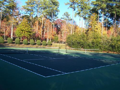 Lovely Tennis Court Area