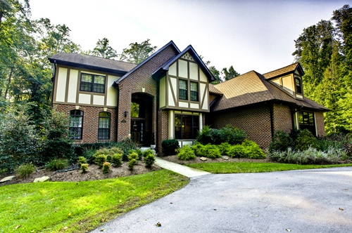& Custom Built English Tudor-House for Sale Anne Arundel County MD