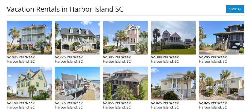 Vacation Rentals in Harbor Island