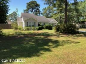 Beaufort SC Single Family Home Sold: $154,754