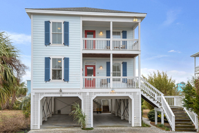 Harbor Island SC Single Family Sleeps 8 Vacation Rental: $1,085 Per Week