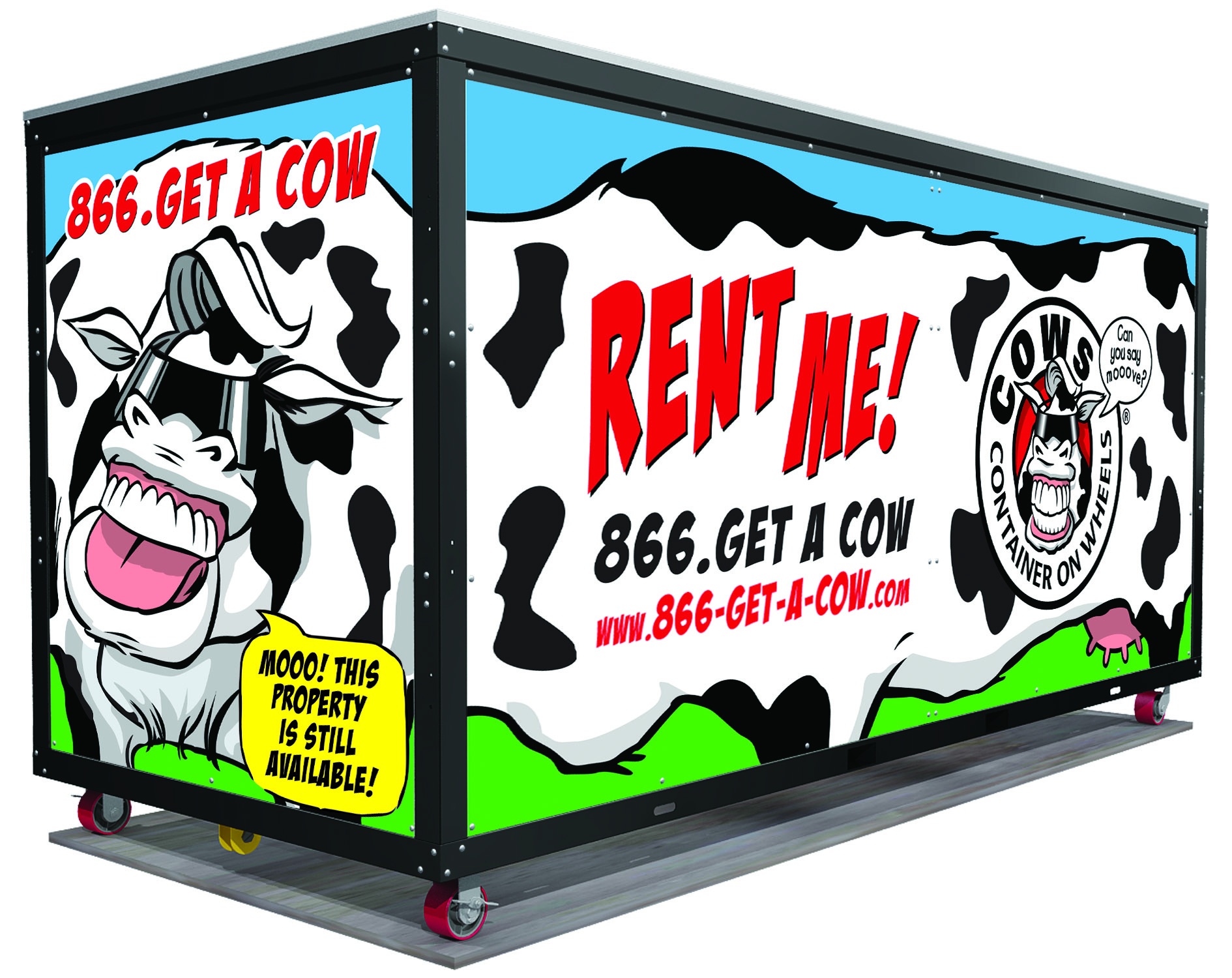 Cows Container On Wheels 174 Your Innovative Solution For All