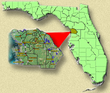 Citrus County Florida Location Map