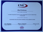 CNE Certified Negotiation Expert