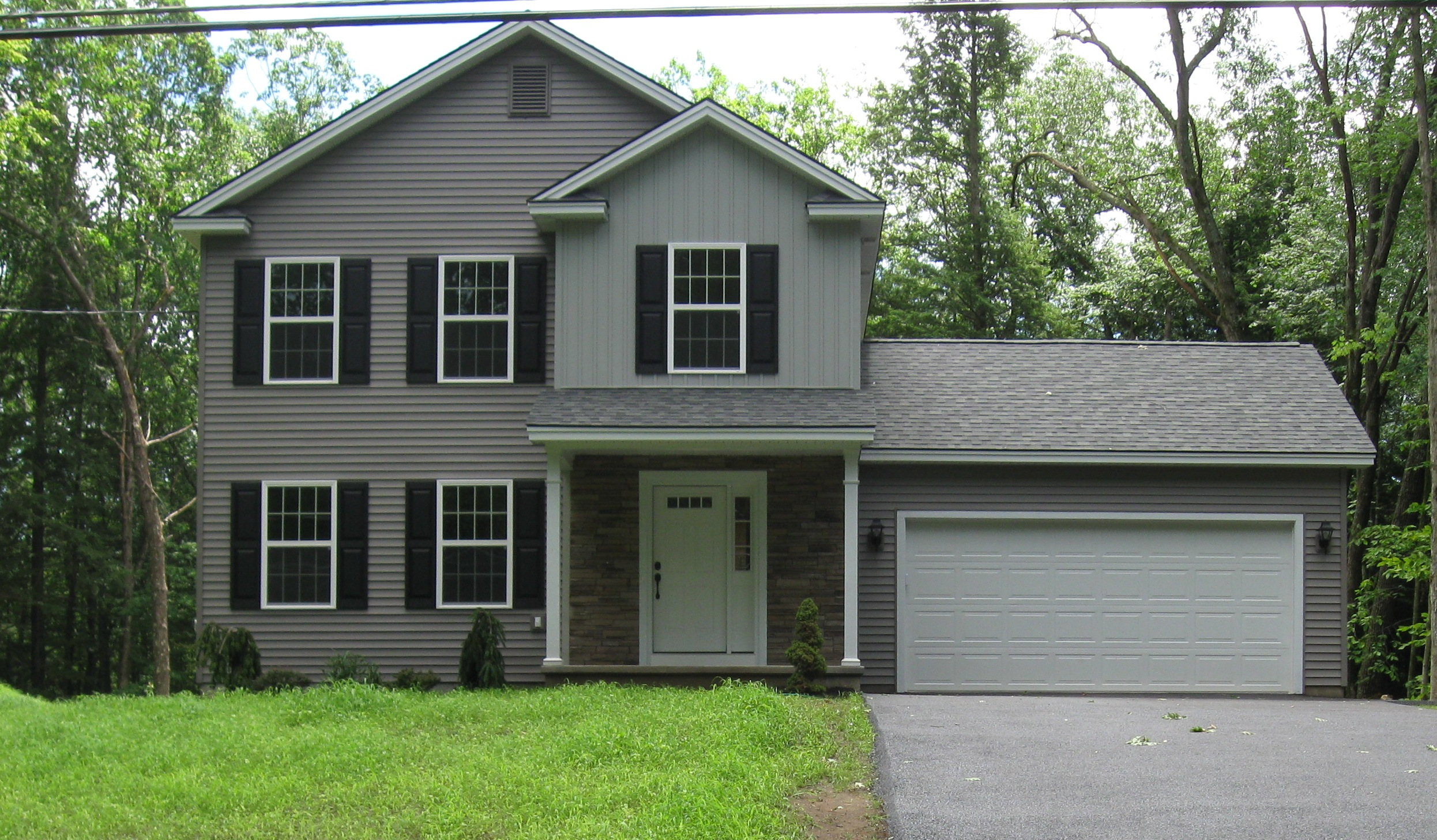 Colonial Model at South Woods New Homes By Cerrone Builders in South Glens Falls NY