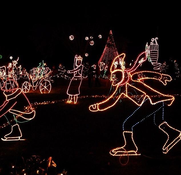 Marble Falls Christmas Lights.Walkway Of Lights Marble Falls Tx Texas Real Estate Sales