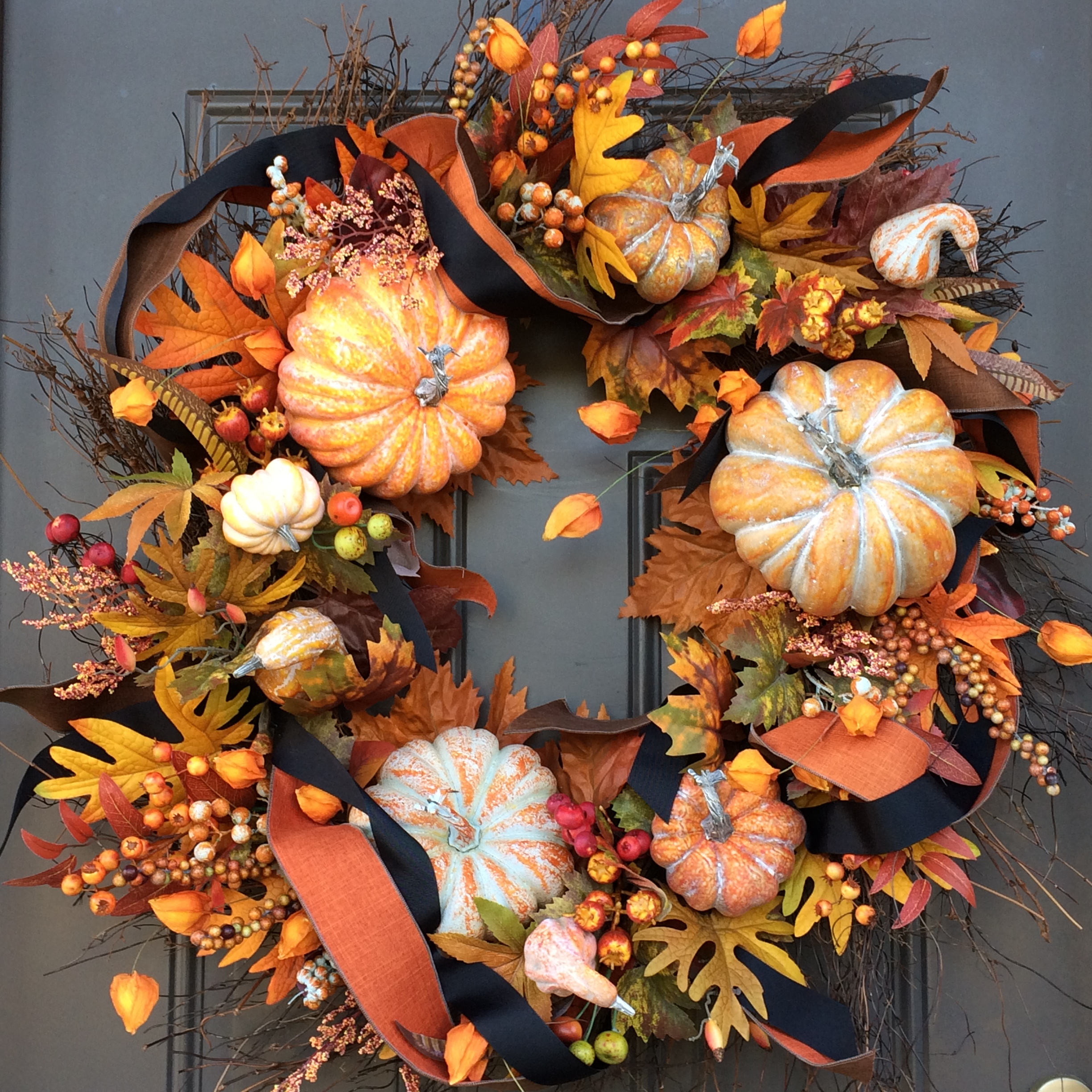 Welcome Fall Wreath - YolandaHoversten.com