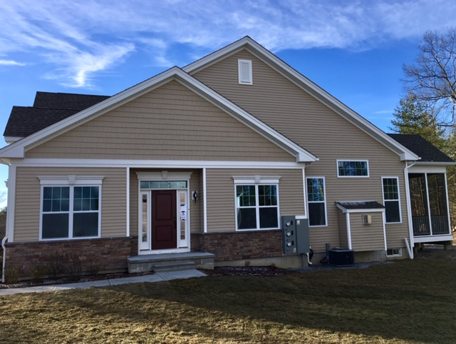 Stow new construction - Over 55 townhouse/active adults - Regency