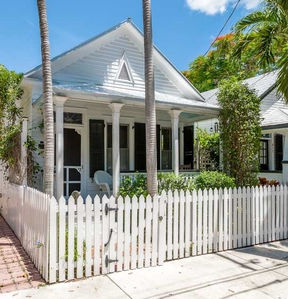 Single Family Home Key West Conch House: 615 Southard Street