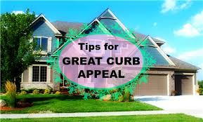 TIPS FOR GREAT CURB APPEAL