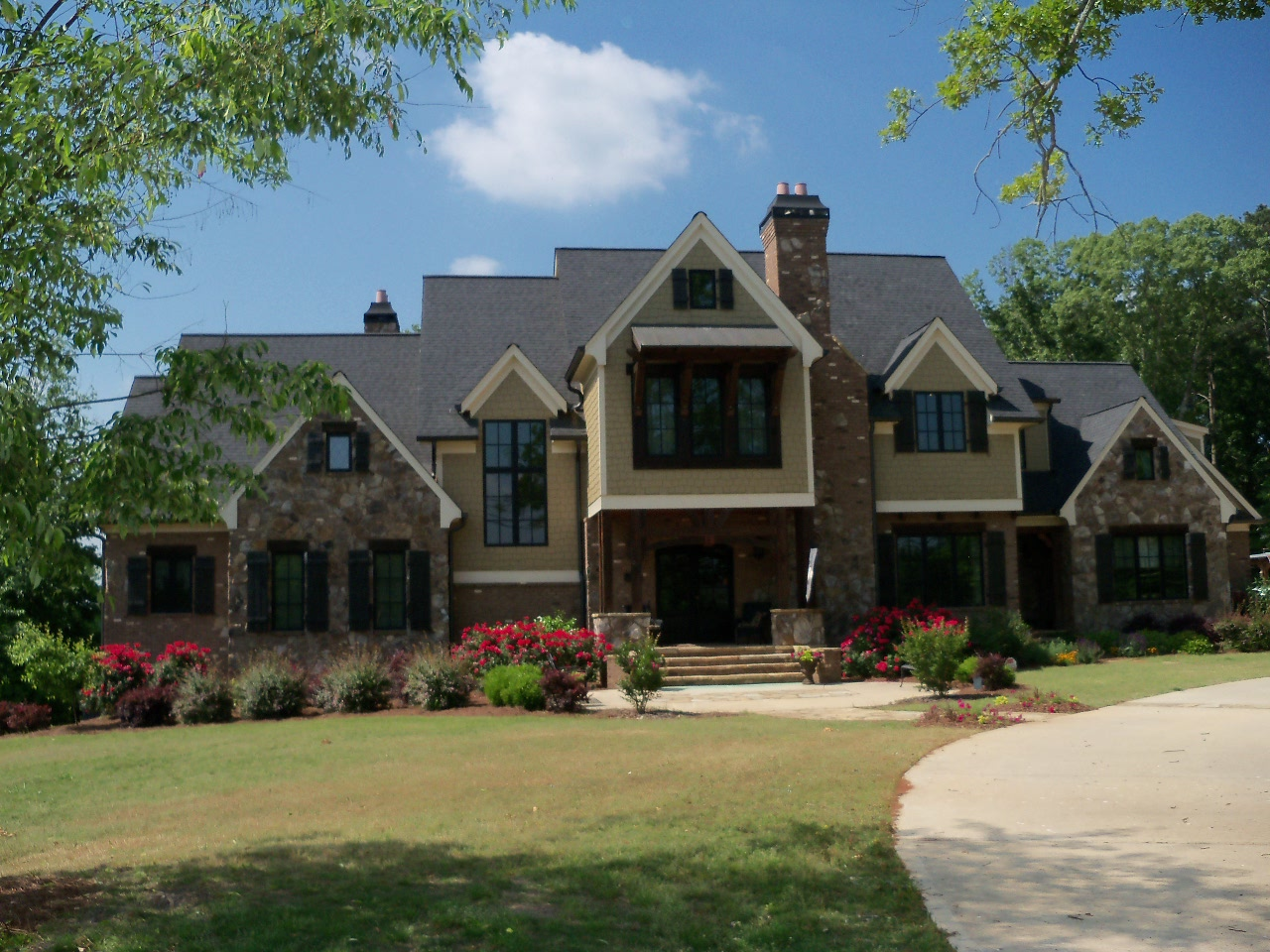 Luxury ranch style homes in atlanta home style for Executive ranch homes