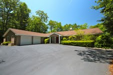 1848 Campbell Drive Home for Sale in Pisgah Forest NC - HomeInBrevard