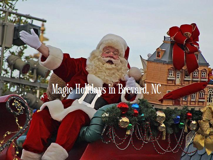 Magic Holidays in Brevard NC - HomeInBrevard